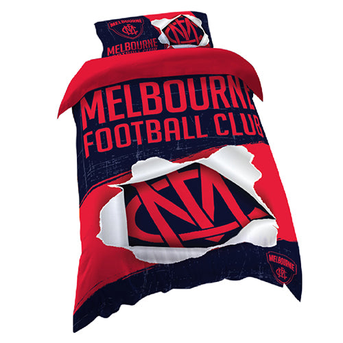 Melbourne Demons Quilt Cover