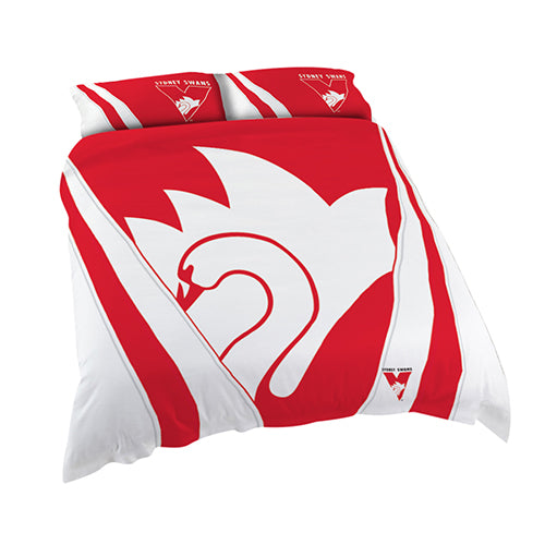 Sydney Swans Quilt Cover - Double, Queen, King