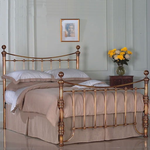 Arrino Cast Brass Bed