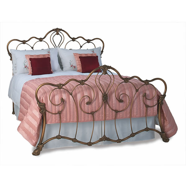 Atherton Cast Bed - Queen Size Bronze Patina