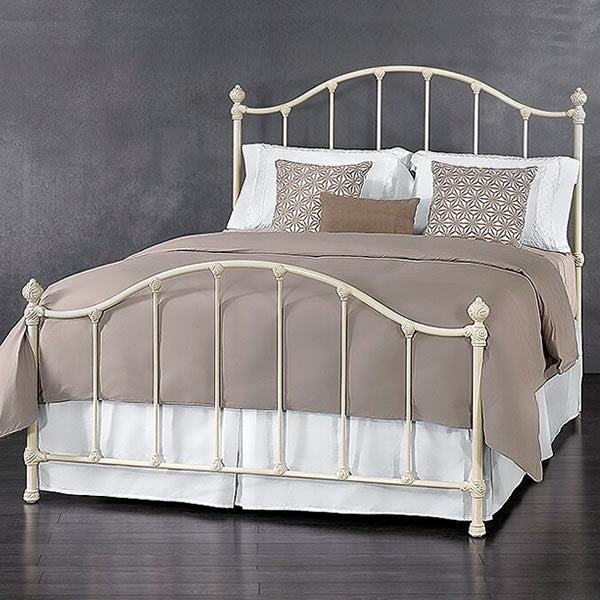 Ballard Cast Bed - Antique White