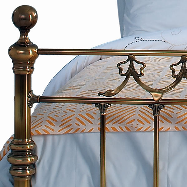 Bradvale Brass Bed - Casting Detail