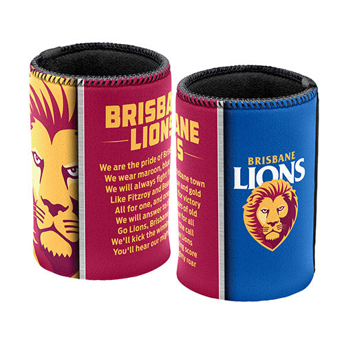 Brisbane Lions Team Song Can Cooler