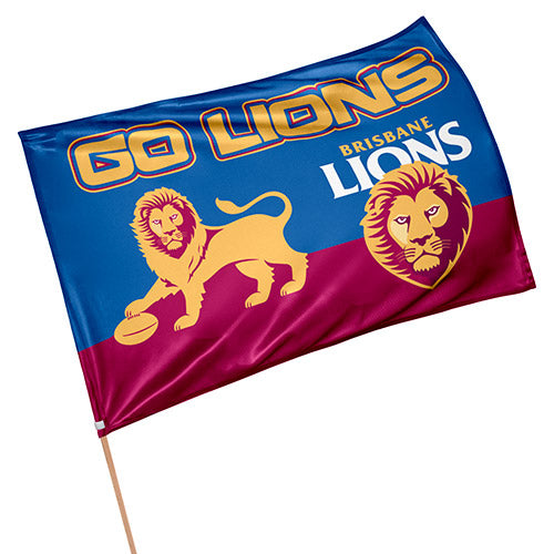 Brisbane Lions Game Day Flag