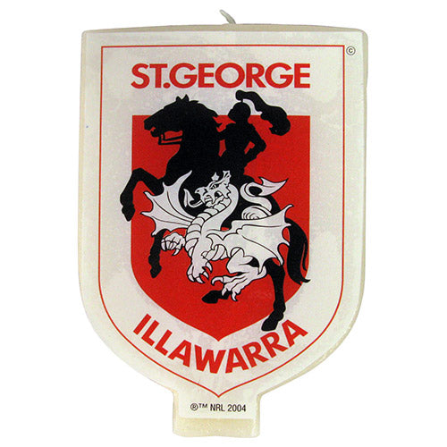 St George Illawarra Dragons Candle