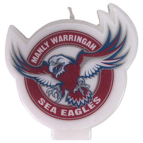 Manly Sea Eagles Candle