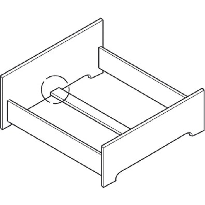 Centre Bed Rail Fitting Example