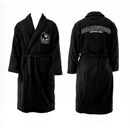 Collingwood Magpies Youth Dressing Gown