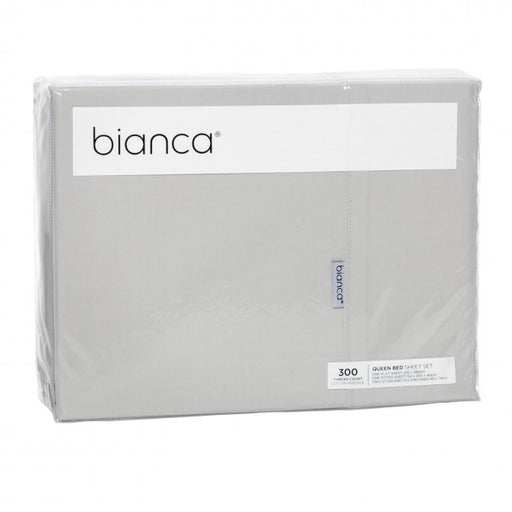 Bianca Heston 300 Thread Count Cotton Percale Sheet Set