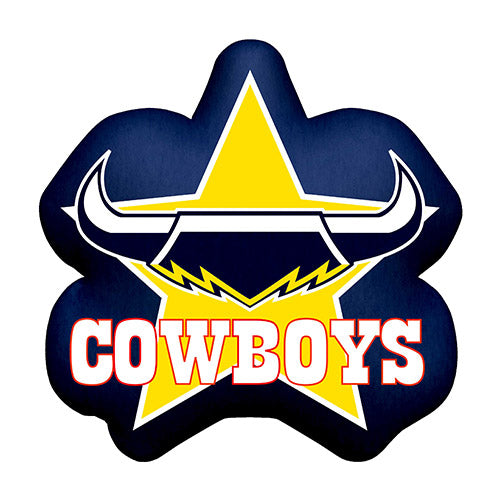 North Queensland Cowboys Logo Cushion