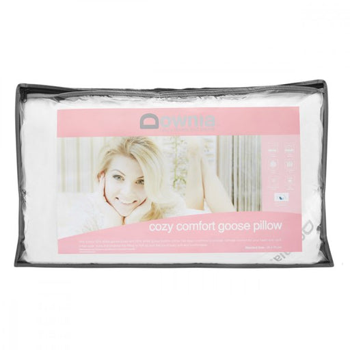 Downia Cozy Comfort Goose Pillow