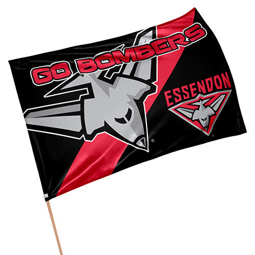 Essendon Bombers Game Day Flag