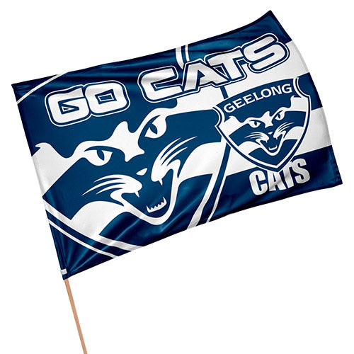 Geelong Cats Game Day Flag Geelong Cats Afl Merchandise Sporting Goods Thebedroom Com Au The Bedroom