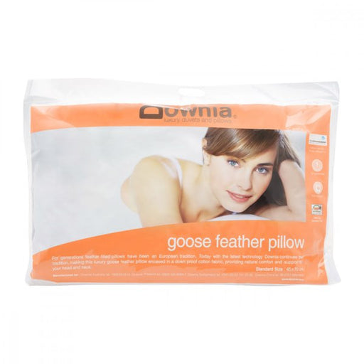 Downia Goose Collection White Goose Feather Pillow