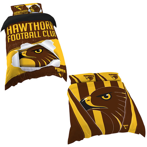 Hawthorn Hawks Quilt Cover