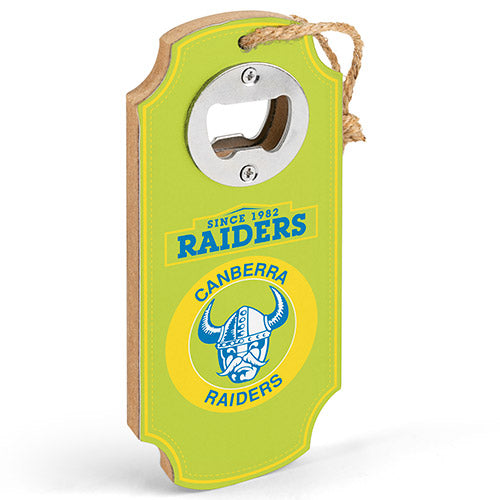 Canberra Raiders Heritage Bottle Opener