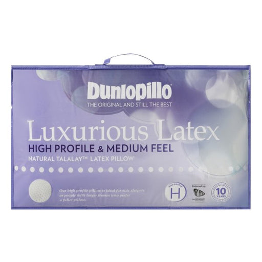 Dunlopillo Luxurious Latex High Profile & Medium Feel Pillow
