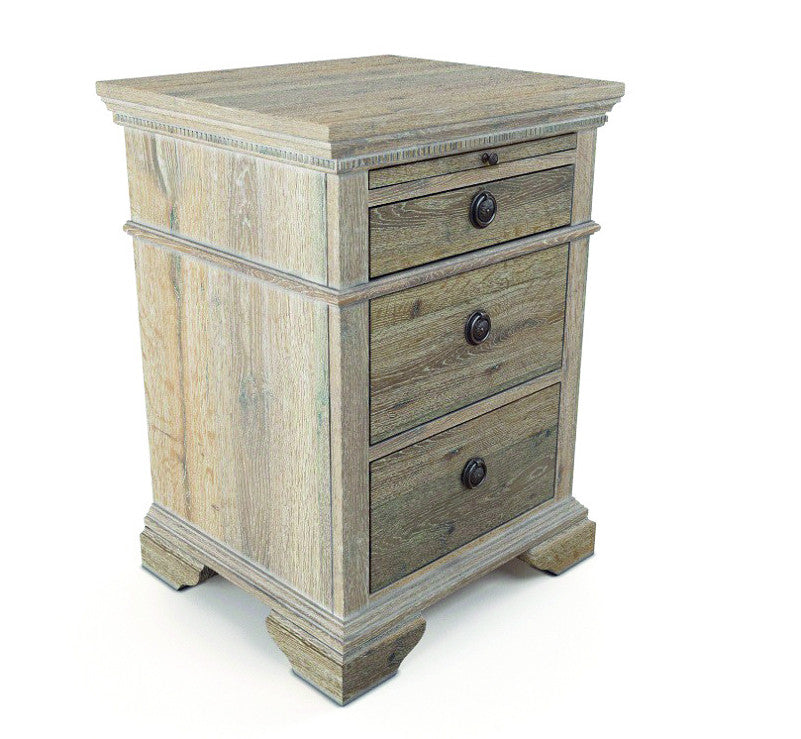 Ibiza 3 Drawer Bedside Table