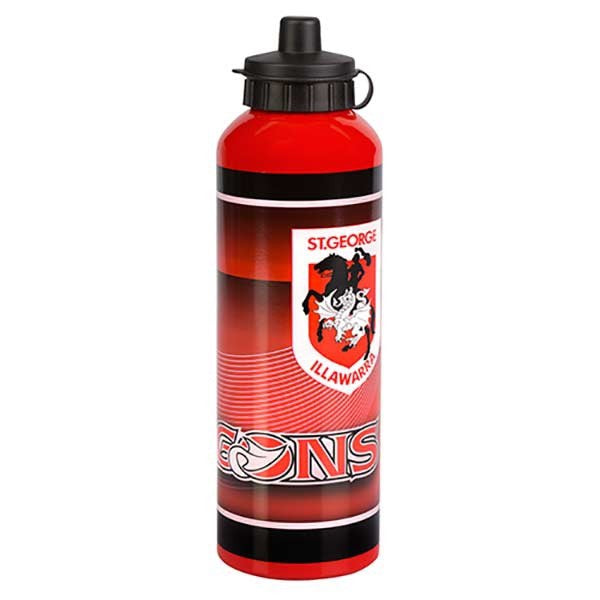 St George Illawarra Dragons Aluminium Drink Bottle