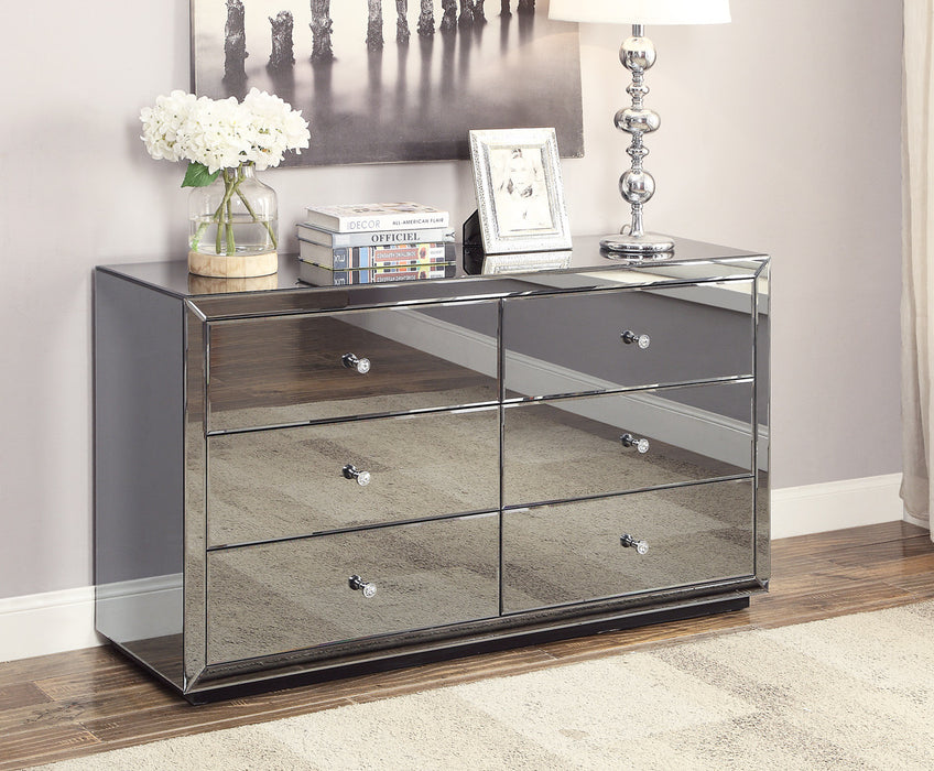 Boulevard Dressing Table In Smoke