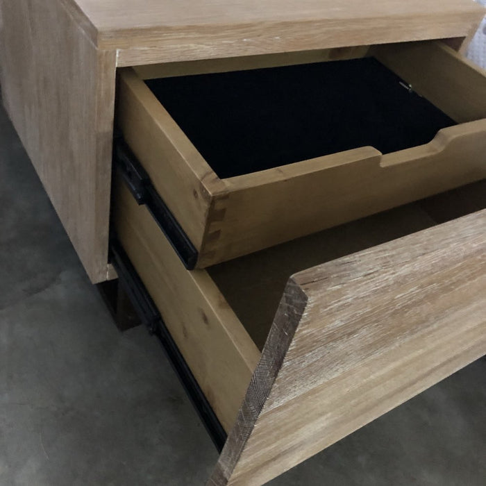 Loft 2 Drawer Bedside Table Drawers