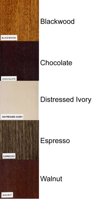 Timber Stain Colour Chart
