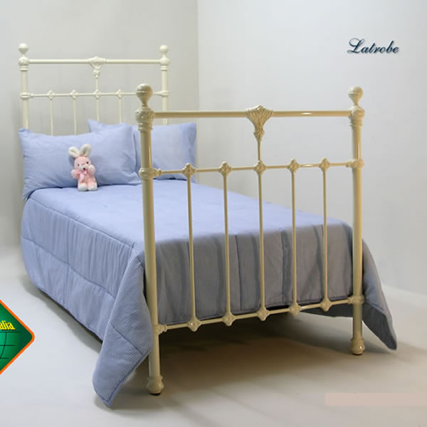 La Trobe Cast Bed - Matching Foot Single Size
