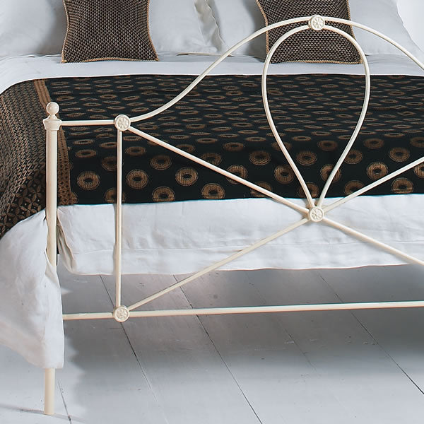 Marree Cast Bed - Foot End