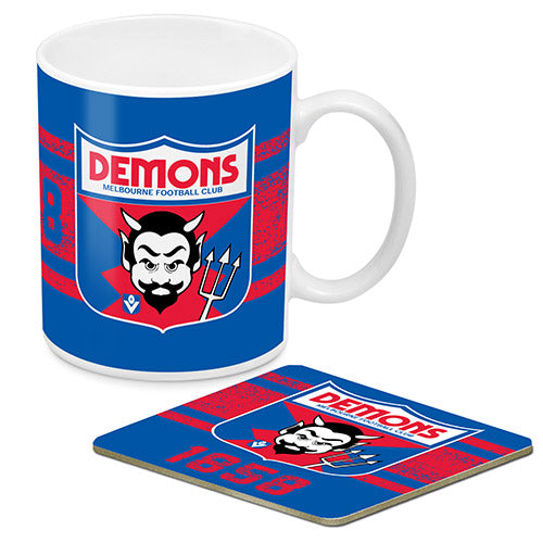 Melbourne Demons Mug & Coaster