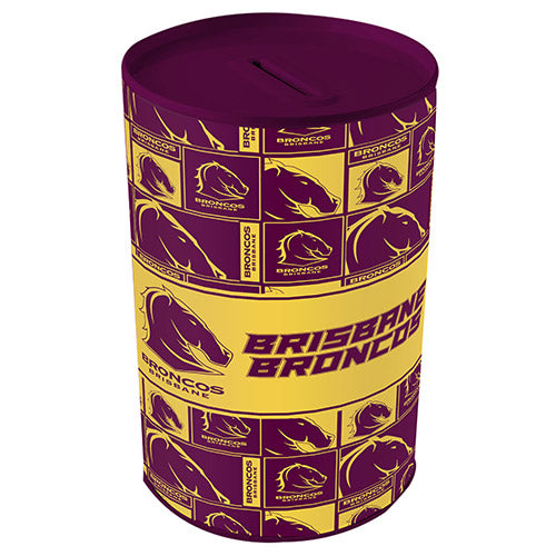 Brisbane Broncos Money Tin