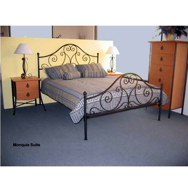 Monique Metal Bed