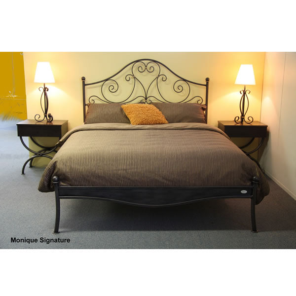Monique Metal Bed With Low Foot