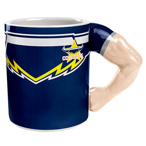 North Queensland Cowboys Molded Muscle Mug