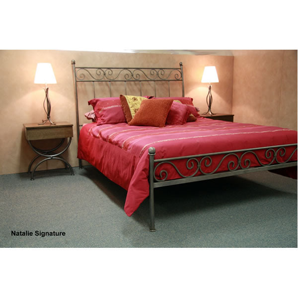 Natalie Metal Bed With Low Foot