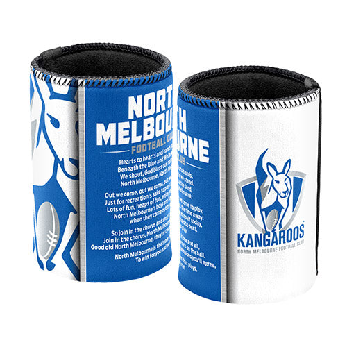 North Melbourne Kangaroos Team Song Can Cooler