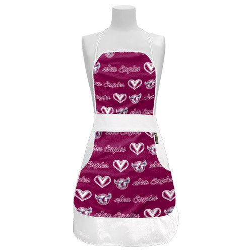 Manly Sea Eagles Ladies Retro Apron