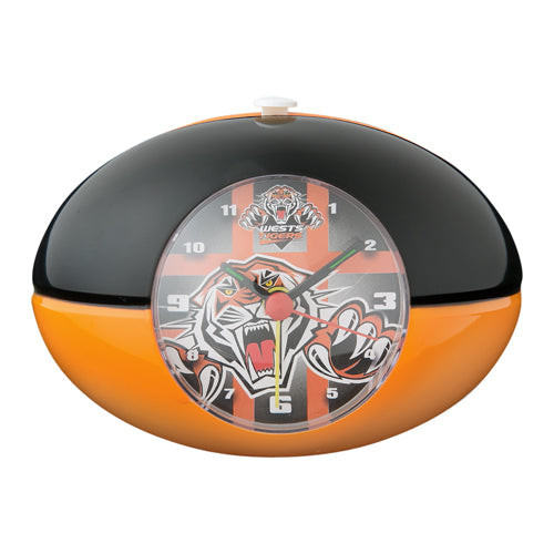 Wests Tigers Footy Alarm Clock