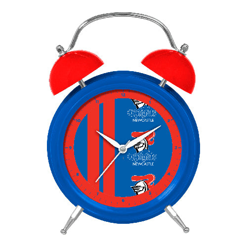 Newcastle Knights Twin Bell Clock