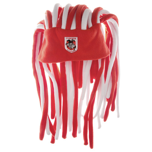St George Illawarra Dragons Dreadlock Fun Hat