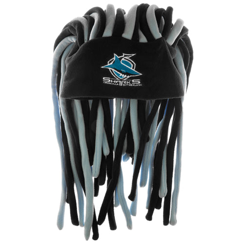 Cronulla Sharks Dreadlock Fun Hat