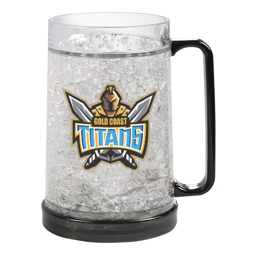 Gold Coast Titans Gel Ezy Freeze Mug