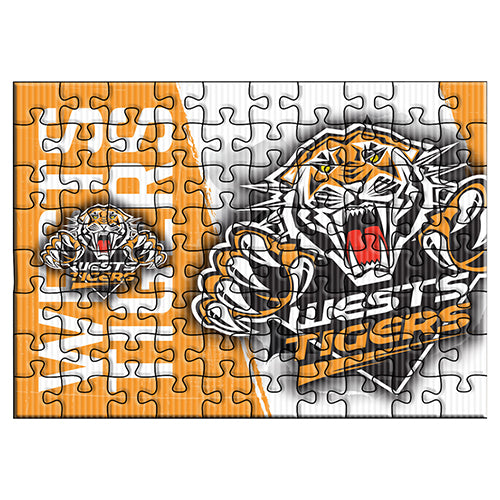 Wests Tigers Logo Puzzle