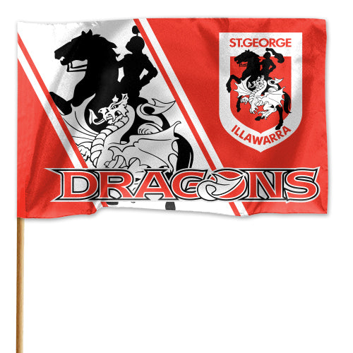 St George Illawarra Dragons Game Day Flag