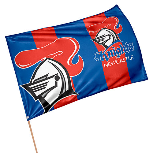 Newcastle Knights game Day Flag