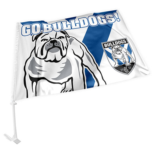 Canterbury Bulldogs Car Flag