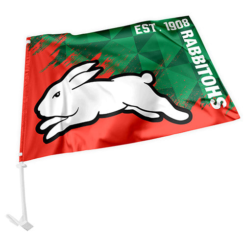 South Sydney Rabbitohs Car Flag
