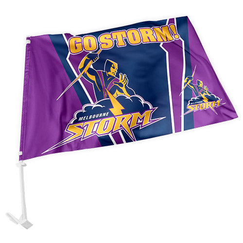 Melbourne Storm Car Flag