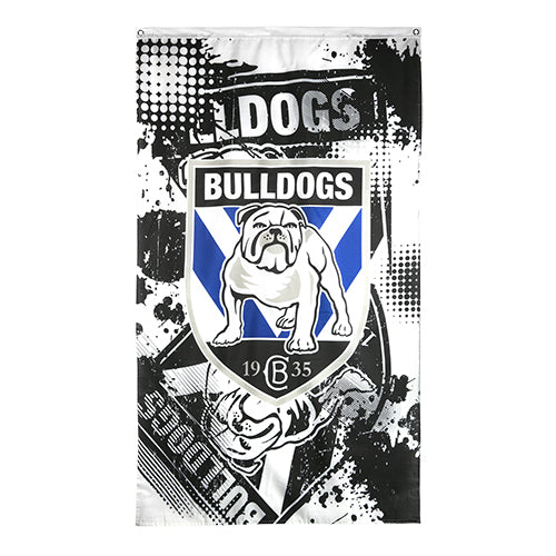 Canterbury Bulldogs Cape/Wall Flag