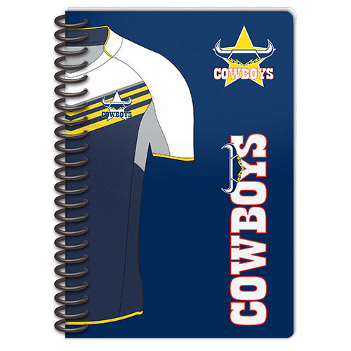 North Queensland Cowboys Set Of 2 Notebooks