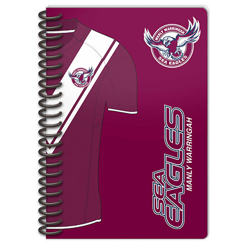 Manly Sea Eagles Set Of 2 Notebooks